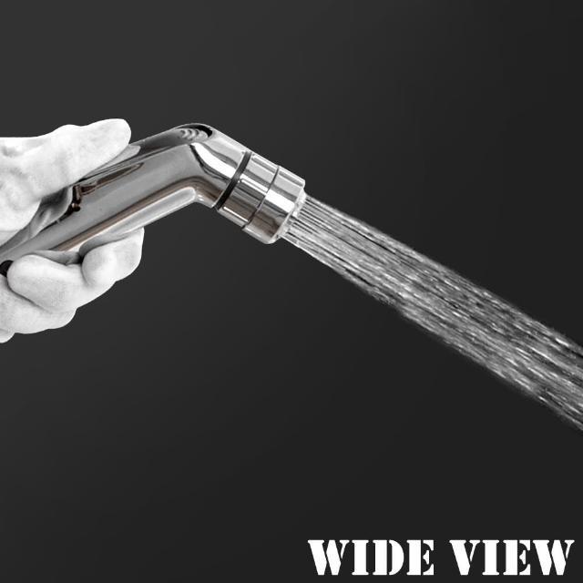 【WIDE VIEW】3M雙水花免治水療噴槍(US-SH04-30)