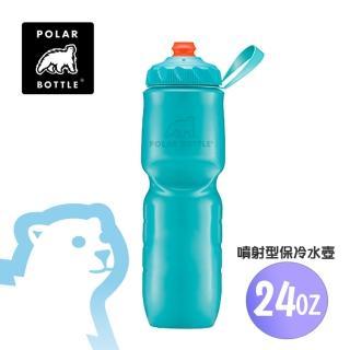 【Polar Bottle】24oz噴射保冷水壺(運動水壺、不含雙酚A、雙層隔熱、大容量)