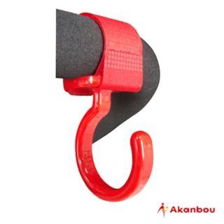 【日本Akanbou】日本製 多用途掛勾2入組(紅色)
