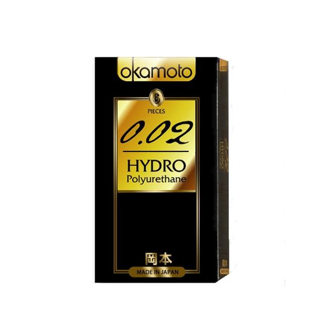 【okamoto岡本OK】002 Hydro水感勁薄保險套(6入)