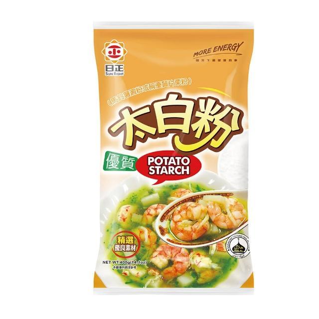 【日正食品】優質太白粉(400g)
