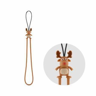 【Bone】麋鹿防刮彈力吊繩(無毒認證矽膠)