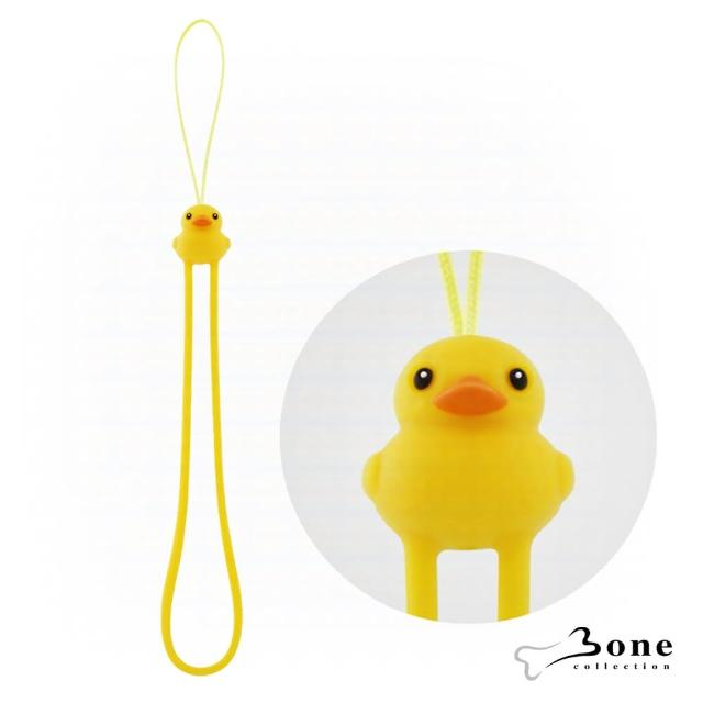 【Bone】黃色鴨鴨防刮彈力吊繩(無毒認證矽膠)