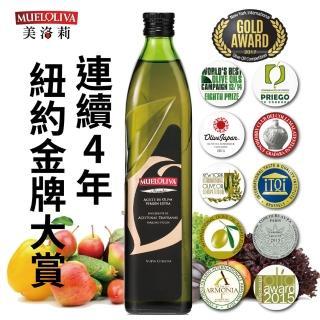 【西班牙Mueloliva美洛莉】碧卡答PICUDA特級冷壓初榨橄欖油(500mlX1罐)