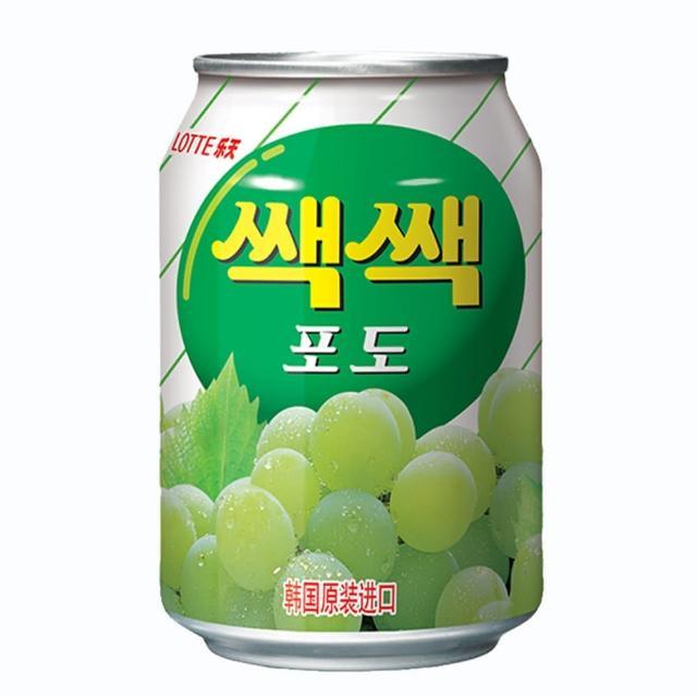 【Lotte】樂天-粒粒葡萄汁(238ml)