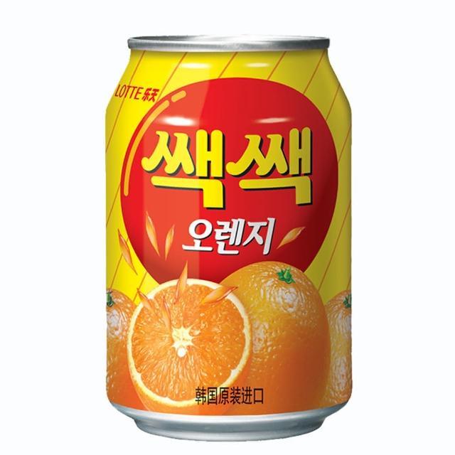 【Lotte】樂天-粒粒橘子汁(238ml)