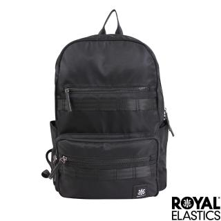 【Royal Elastics】Knight闇黑騎士系列 - 後背包 - 黑色