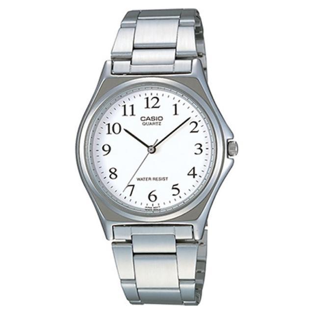 【CASIO】輕巧典雅淑女腕錶-數字白面(LTP-1130A-7B)