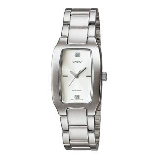 【CASIO】酒桶型時尚腕錶-白(LTP-1165A-7C2)