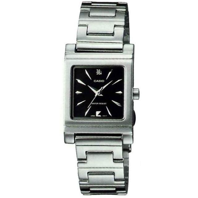 【CASIO】高雅典藏淑女腕錶-黑(LTP-1237D-1A2)