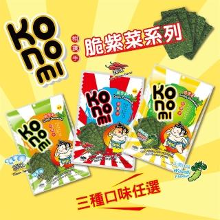 【KoNoMi】泰式海苔 相撲手脆紫菜36g(四種口味任選)