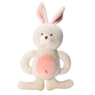【美國miYim】有機棉固齒娃娃禮盒(兔兔)