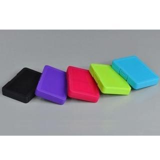 記憶卡 收納盒 4片裝 可裝 SD TF microSD 記憶卡(內附 microSD 專屬卡槽 x2)