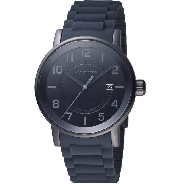 【瑞士WENGER】Attitude 態度系列 野營生活時尚腕錶(01.0341.112)
