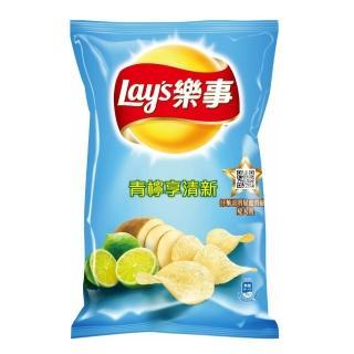 【樂事】青檸享清新味洋芋片97g/包