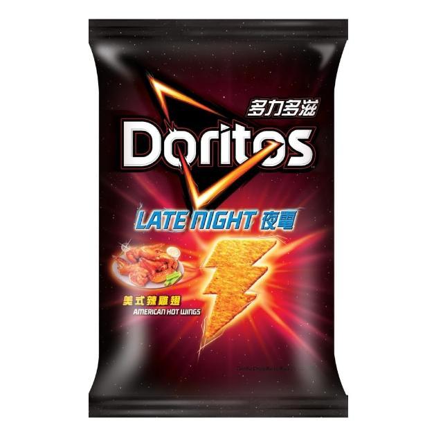 【多力多滋】美式辣雞翅味玉米片122g/包
