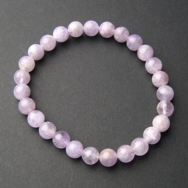 【開運工場】6mm天然紫玉串珠手環(可選手圍尺寸)
