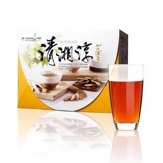 ~青玉牛蒡茶~清湘淳白鶴靈芝草牛蒡茶包 6g~50包入 盒
