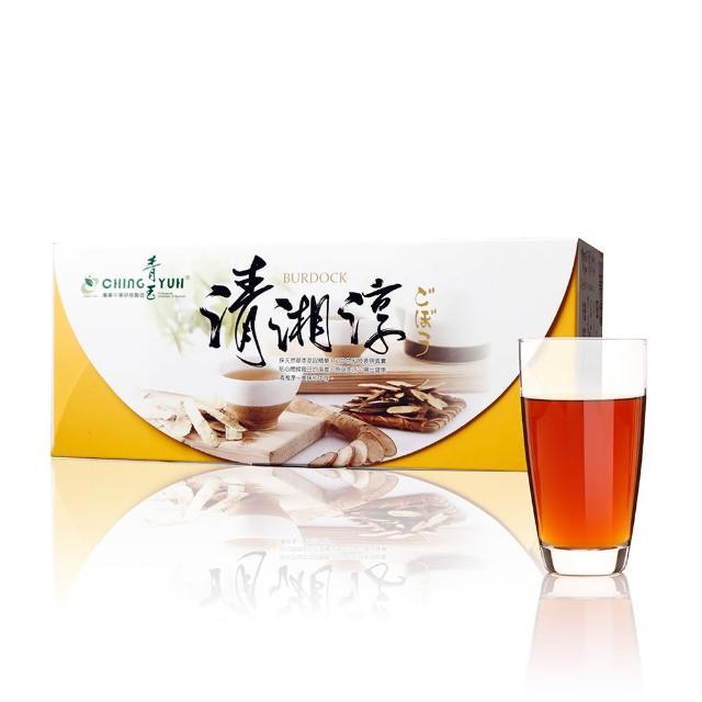 【青玉牛蒡茶】清湘淳白鶴靈芝草牛蒡茶包(6g*16包入/盒)