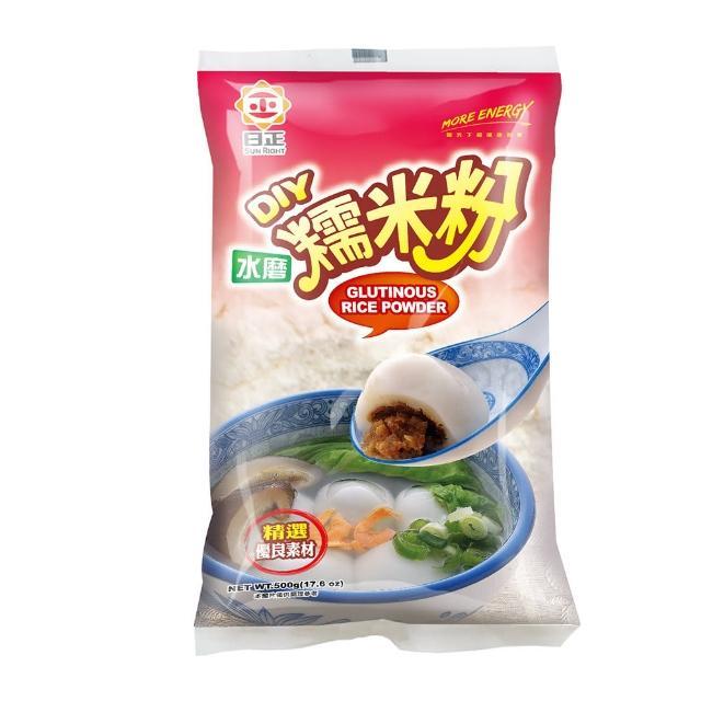 【日正食品】水磨糯米粉(500g)