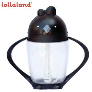【lollaland】美國 可愛造型小雞杯 - 吸管學習杯 / 烏骨雞 / 黑色 296ml