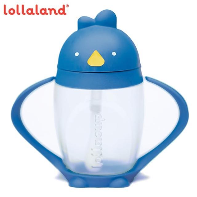 【lollaland】美國 可愛造型小雞杯 - 吸管學習杯 / 海底雞 / 藍色 296ml