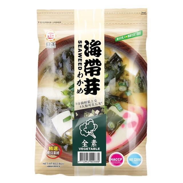 【日正食品】海帶芽 - 全素(80g)