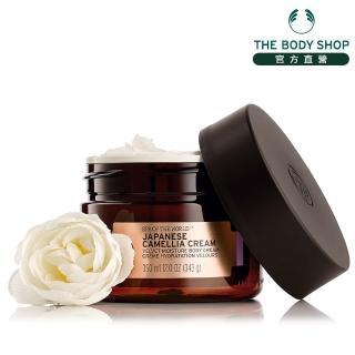 【THE BODY SHOP】日本SPA 山茶花鎖水美膚霜(350ML)