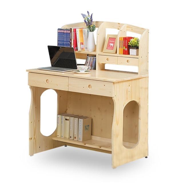 【時尚屋】松木3.1尺書桌 NM7-60-6(免運費 免組裝 書桌)