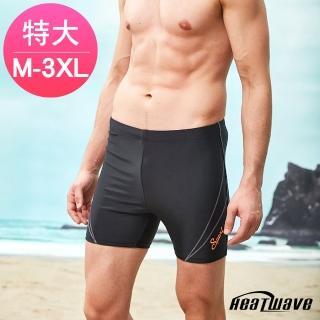 【Heatwave 熱浪】加大男泳褲 五分褲-亞士紳(357)