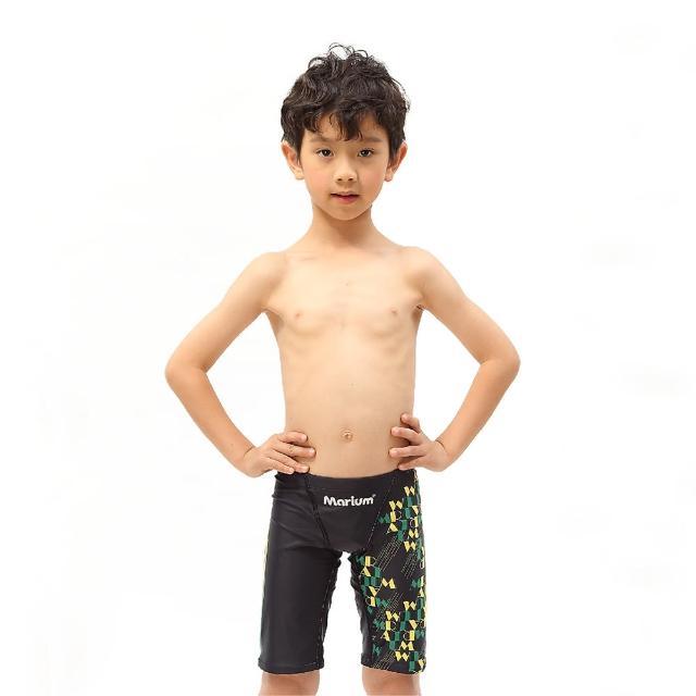 【≡MARIUM≡】巴西國旗-小男競賽型泳褲(MAR-7125AJ)