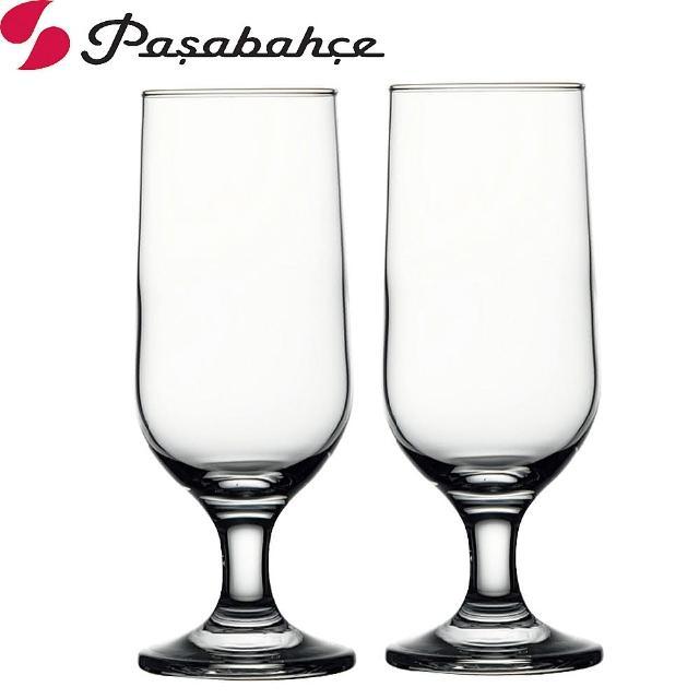 【土耳其Pasabahce】高腳附餐杯啤酒杯350cc(二入組)