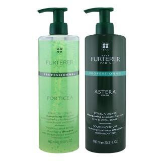 【RENE FURTERER】複方精油養護髮浴/紫苑草舒緩髮浴600ml(兩款任選)