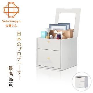 【Sato】Hako有故事的風格掀蓋抽櫃復古洗白木紋(櫃子)