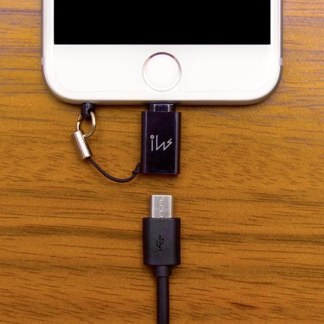 【innowatt】Micro USB to Lightning 轉接頭