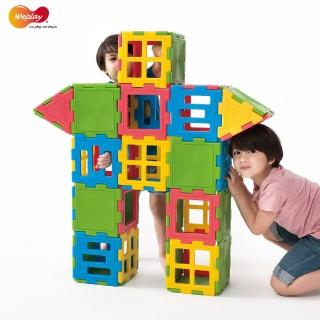 【Weplay】巧思積木-56件(STEAM玩具)
