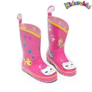 【美國Kidorable】兒童趣味雨鞋(招財貓款)
