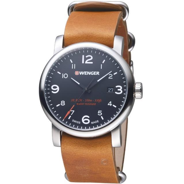 【瑞士 WENGER】都會系列戶外休閒腕錶(01.1041.136)