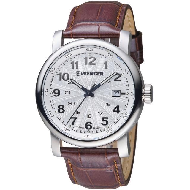 【瑞士 WENGER】都會系列城市漫步腕錶(01.1041.114)