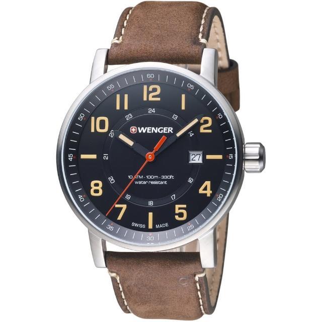【瑞士WENGER】Attitude 態度系列 野營生活時尚腕錶(01.0341.108)