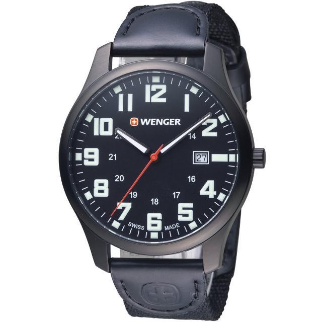 【瑞士WENGER】Attitude 態度系列 野營生活時尚腕錶(01.1441.114)