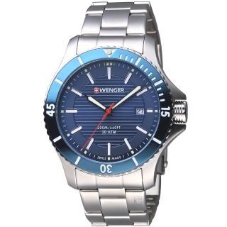 【瑞士WENGER】Seaforce海勢系列 征服怒海潛水腕錶(01.0641.120)