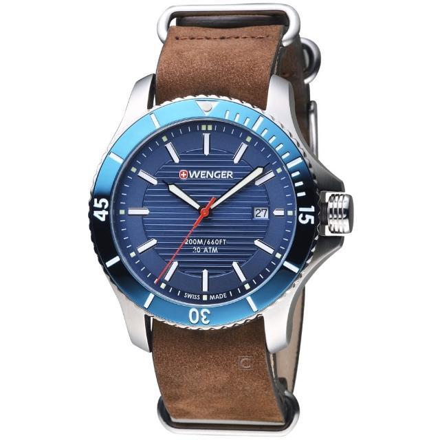 【瑞士WENGER】Seaforce海勢系列 征服怒海潛水腕錶(01.0641.121)