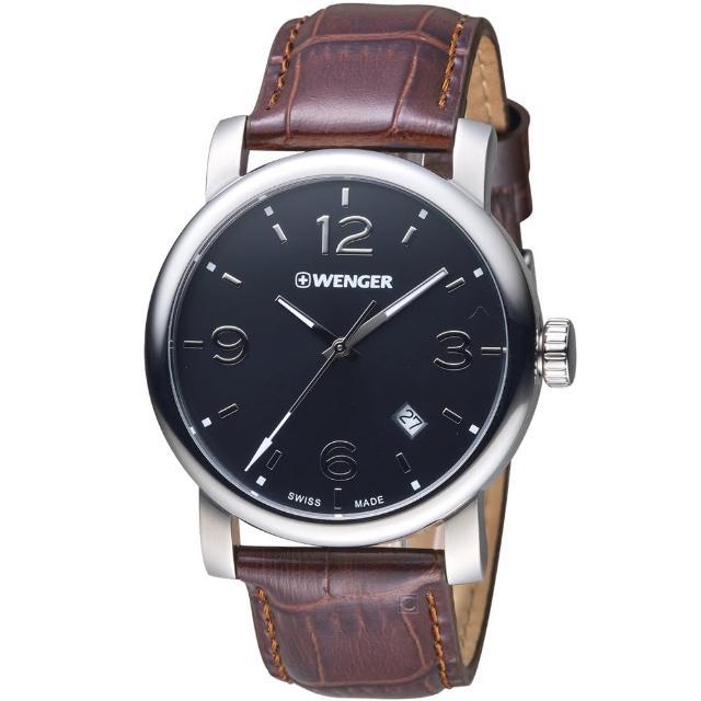 【瑞士WENGER】Urban 都會系列 都市美學紳士腕錶(01.1041.128)