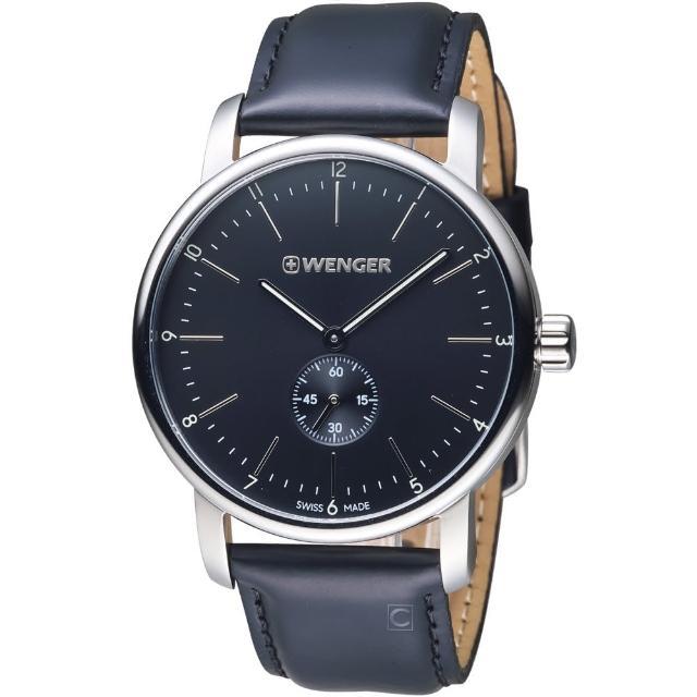 【瑞士WENGER】Urban都會系列俐落美學指針腕錶(014.1741.102)
