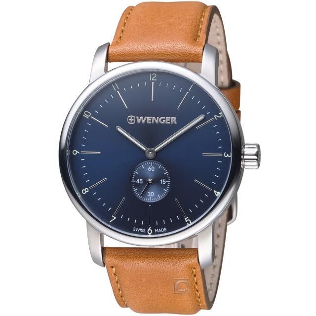 【瑞士WENGER】Urban都會系列俐落美學指針腕錶(014.1741.103)