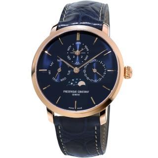 【康斯登 CONSTANT】Manufacture系列超薄萬年曆腕錶(FC-775N4S4)