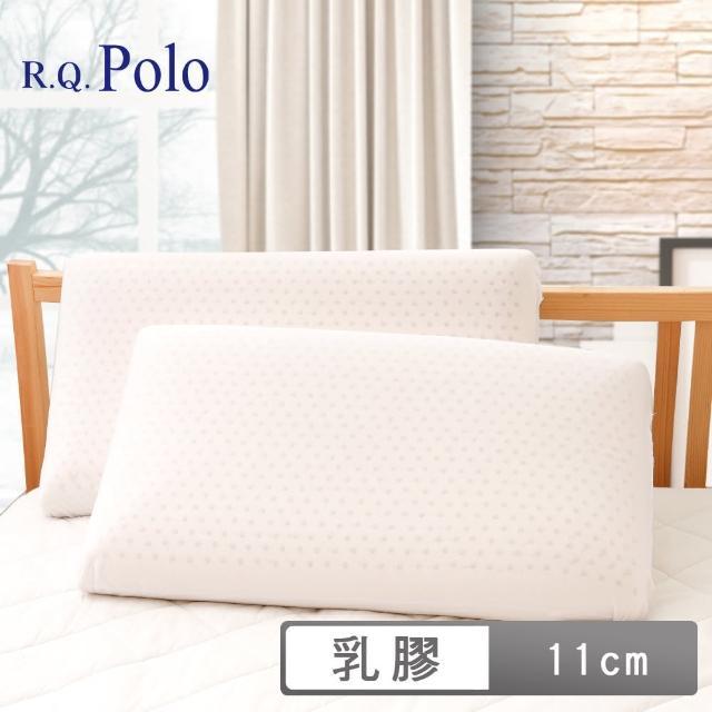 【R.Q.POLO】特大蜂巢式乳膠枕-基本平面型(11cm/1入)/