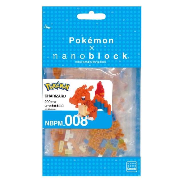 【Nanoblock 微小積木】噴火龍(NBPM-008)