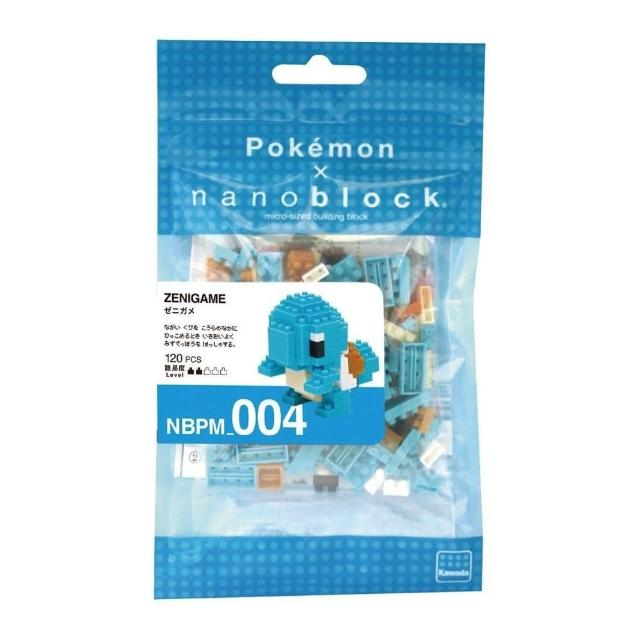【Nanoblock 微小積木】傑尼龜(NBPM-004)